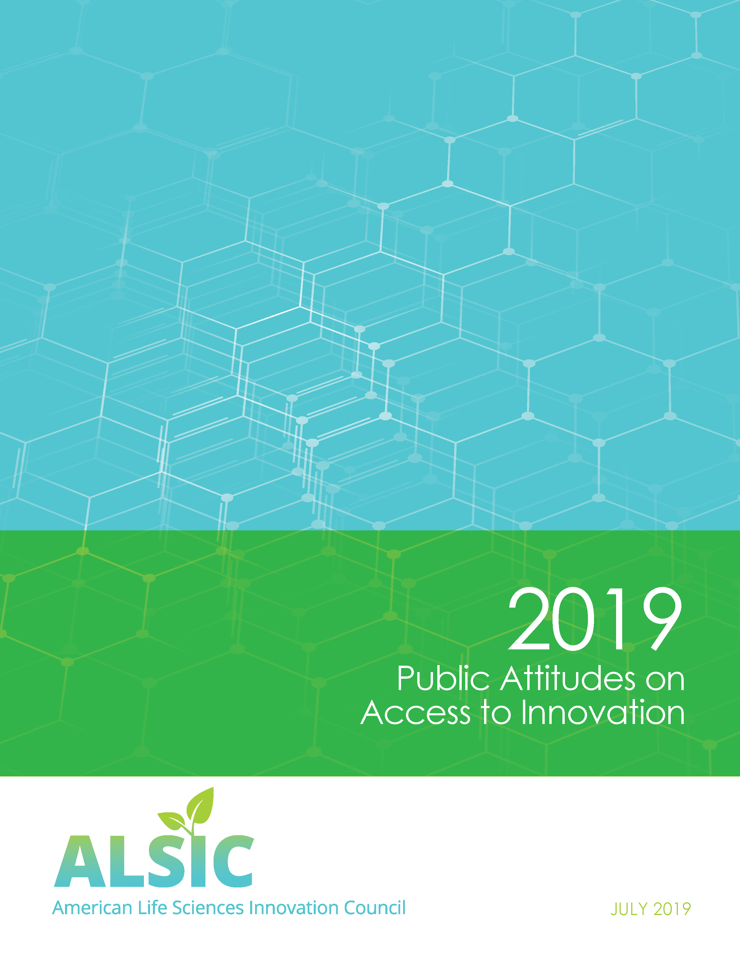 ALSIC 2019 Public Attitudes on Access to Innovation cover page